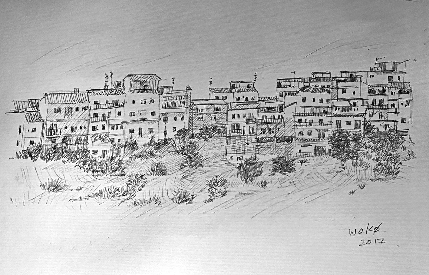 Sketching in Spain